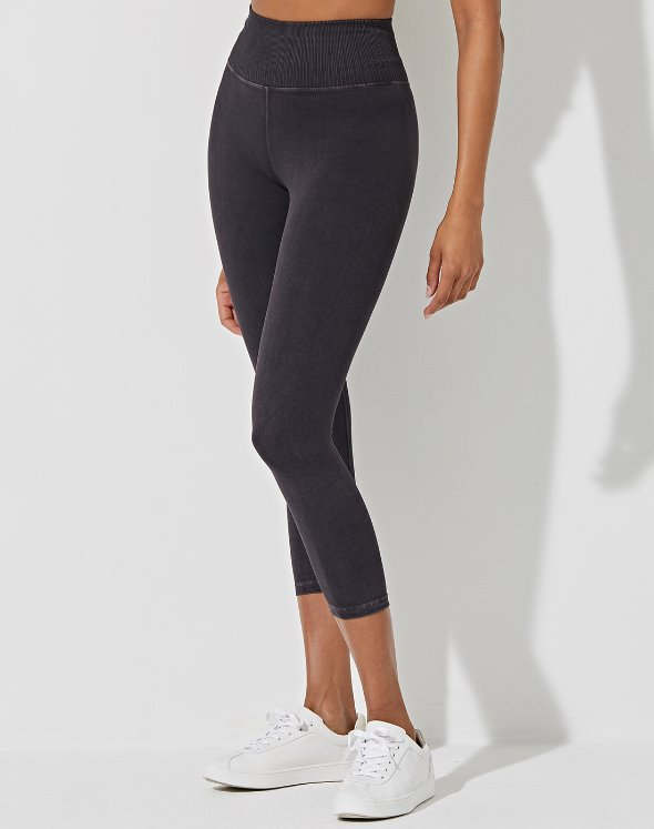 Mid-Rise V Water Leggings (VK2BO871/BK)